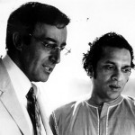 Peter Sellers and Ravi Shankar
